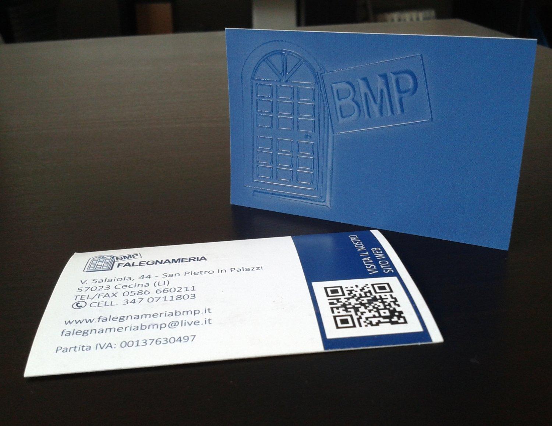Biglietto da visita BMP